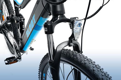 elektrofahrrad mountainbike e mtb fully pedelec 27 5 blau. Black Bedroom Furniture Sets. Home Design Ideas
