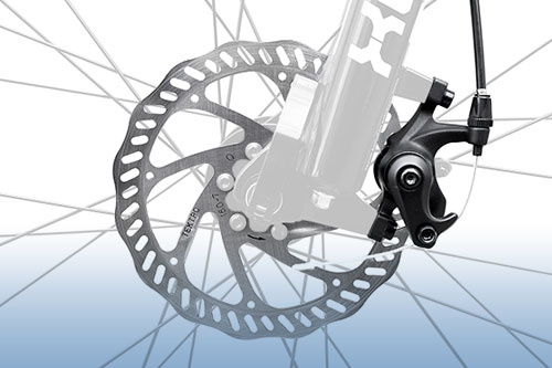 Tektro disc brakes (mechanical)